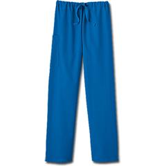 MON30338500 - White SwanFundamentals Unisex Drawstring Scrub Pants, Royal Blue, 4XL