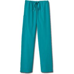 MON20318500 - White SwanFundamentals Unisex Drawstring Scrub Pants, Teal, Medium
