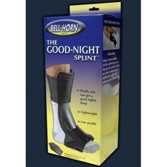 MON14043000 - DJOPlantar Fasciitis Night Splint Good Night® Large / X-Large Size 10.5-16 Male, Size 10-16 Female Left or Right Foot