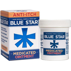 MON14181400 - McKessonItch Relief Blue Star 1.24% Strength Ointment 2 oz. Jar (1418037)