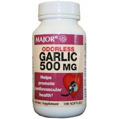 MON14202700 - Major PharmaceuticalsGarlic Oil Capsule 500 mg