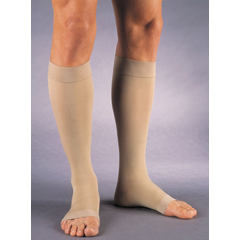 MON535954PR - Jobst - Relief Knee-High Firm Compression Stockings, 20-30 mmhg, Open Toe