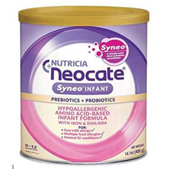 MON14362610 - NutriciaInfant Formula Neocate® Syneo 400 Gram Can Ready to Use