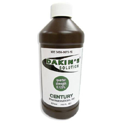 MON14422700 - Century PharmaceuticalAntiseptic Dakins Quarter Strength® 16 oz. Liquid