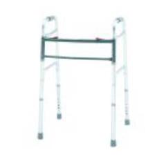 MON14423800 - Merits HealthBariatric Folding Walker Adjustable Height Aluminum 500 lbs., 2EA/CS