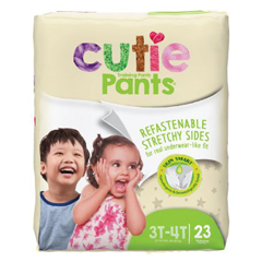 MON14673101 - First QualityTraining Pant Pull On WonderPants® 3T-4T Large, 23EA/PK