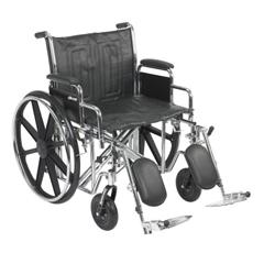 MON1065281EA - McKesson - Wheelchair (146-STD22ECDDA-ELR)
