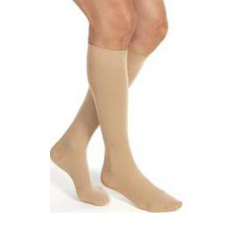 MON14720300 - JobstCompression Stockings Relief Knee-high Large Black Closed Toe