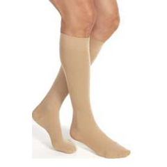 MON14730300 - JobstCompression Stockings Relief Knee-high Medium Black Closed Toe