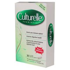 MON14872700 - Connetics CorporationProbiotic Dietary Supplement Culturelle® 30 per Bottle Capsule, 30EA/PK