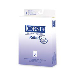 MON14890300 - JobstRelief Knee-High Anti-Embolism Stockings