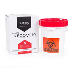 MON15012800 - Sharps Compliance - 5-Gallon Medical Professional Sharps Recovery System