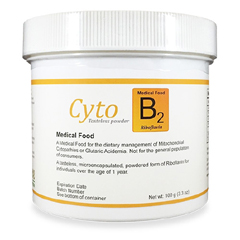 MON1109430EA - Solace Nutrition - Oral Supplement Cyto B2 Unflavored 100 Gram Jar Powder, 1/ EA
