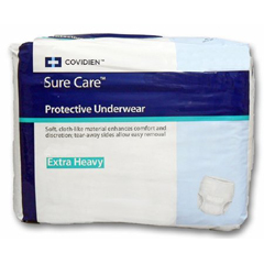 MON15163101 - CovidienSure Care® Protective Underwear (1615S), Large, 18 EA/BG