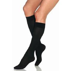 MON15220300 - JobstKnee Stockings 15-20 Black LG, 2EA/PR