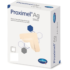 MON15302101 - Hartmann - Proximel® Ag Silicone Foam Dressing with Border (15300000)