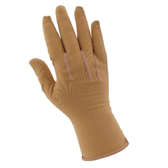 MON15581300 - JobstCompression Glove MedicalWear Pre-Sized Full Finger Large Long Over-the-Wrist Ambidextrous Fabric