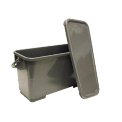 MON16014100 - Saalfeld RedistributionCharging Mop Bucket 6 Gallon Red