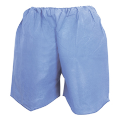 MON16121104 - McKessonExam Shorts Large Blue SMS Adult Disposable, 25/BG