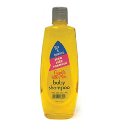 MON16161700 - H & H LabsBaby Shampoo Gentle Plus 16 oz Fresh Powder Scent Screw Top Bottle