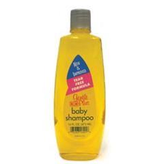 MON16161712 - H & H LabsBaby Shampoo Gentle Plus 16 oz Fresh Powder Scent Screw Top Bottle, 12EA/CS