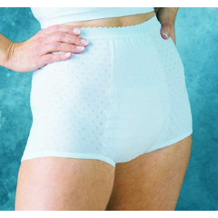 MON16168600 - Murray SalkHealthDri® 6 oz Capacity Pull On Protective Underwear, White, Size 16