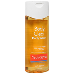 MON16181800 - Johnson & JohnsonAcne Body Wash Neutrogena Body Clear 8.5 oz. (1681774)