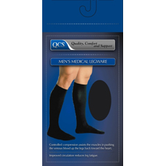 MON16240300 - Scott SpecialtiesCompression Socks Knee-High Small / Medium Black Closed Toe