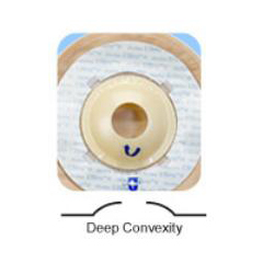 MON16294900 - Marlen Manufacturing - Colostomy / Ileostomy Pouch UltraLite® One-Piece System 9 Inch L X 5-3/4 W Inch 1-1/8 Inch Stoma Drainable, Kwick Klose Deep Convex, 10EA/BX