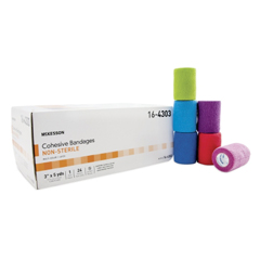 MON16432010 - McKessonCompression Bandage Medi-Pak® Performance Elastic with Cohesive 3 Inch X 5 Yard NonSterile, 1EA/PK 24PK/CS