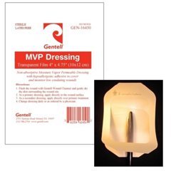 MON16452101 - GentellDressing Wound Film Trans 4X5