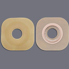 MON16484900 - HollisterColostomy Barrier FlexWear® Standard Wear Without Tape 2-1/4 Inch Flange Red Code Hydrocolloid 1-1/2 Inch Stoma, 5EA/BX