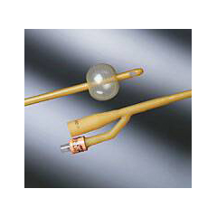 MON16511914 - Bard MedicalFoley Catheter Bardex 2-Way Standard Tip 5 cc Balloon 14 Fr. Silicone Coated Latex