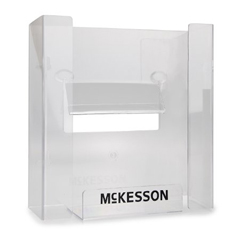 MON16661300 - McKessonGlove Box Dispenser Horizontal or Vertical Mount 3-Box Clear 3-1/8 X 10-1/4 X 15-1/4 Inch Plastic, 4EA/CS