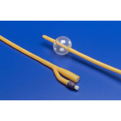 MON16681900 - MedtronicFoley Catheter Ultramer 2-Way Coude Tip 5 cc Balloon 18 Fr. Latex