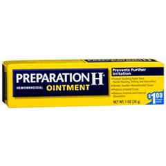 MON16781400 - PfizerHemorrhoid Relief Preparation H® Ointment 1 oz.