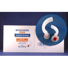 MON16813900 - McKessonOralpharyngeal Airway Medi-Pak Guedel 80 mm