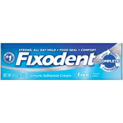MON16871700 - Procter & Gamble - Denture Adhesive Fixodent® Free 1.4 oz Cream