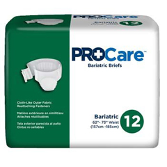 MON17173101 - First QualityIncontinent Brief ProCare Tab Closure 2X-Large Disposable Heavy Absorbency