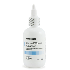 MON17182100 - McKesson - Wound Cleanser 4 oz. Squeeze Bottle