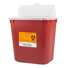 MON17182800 - Medegen Medical Products LLCSharps Multi-Purpose Sharps Container