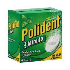 MON17291710 - Block Drug CompanyDenture Cleaner Polident® Tablet