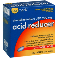MON17442700 - McKessonAntacid sunmark 200 mg Strength Tablet 30 per Box