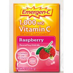 MON17582701 - PfizerOral Supplement Emergen-C Raspberry 0.3 oz. Individual Packet Powder