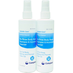 MON17621712 - ColoplastNo Rinse Shampoo and Body Wash Bedside-Care® 8 oz. Scented Bottle, 12/CS