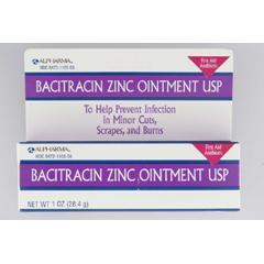 MON17662700 - ActavisFirst Aid Antibiotic Bacitracin Zinc 1 oz. Ointment