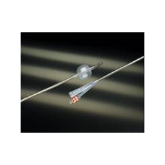 MON17681912 - Bard MedicalFoley Catheter Lubri-Sil 2-Way Standard Tip 30 cc Balloon 16 Fr. Antimicrobial / Hydrogel Coated Silicone
