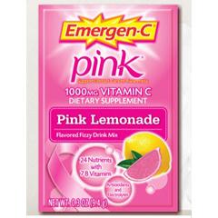 MON17722701 - PfizerOral Supplement Emergen-C Pink Lemonade 0.3 oz. Individual Packet Powder