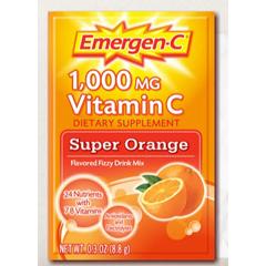 MON17722710 - PfizerOral Supplement Emergen-C Super Orange 0.3 oz. Individual Packet Powder