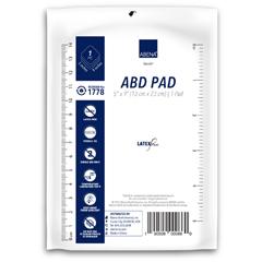MON17782000 - Abena - Abdominal Pad Cellulose / Nonwoven 5 X 9 Rectangle Sterile
